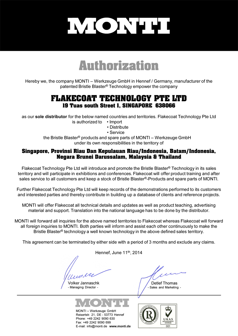 Flakecoat Technology Pte  Ltd